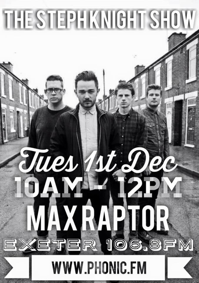 Max Raptor poster