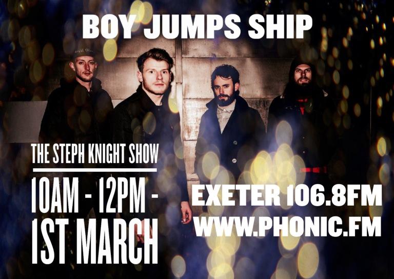 Boy Jumps Ship Poster
